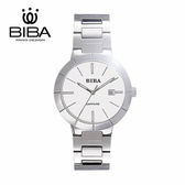 法國 BIBA 碧寶錶 經典系列 藍寶石玻璃 石英錶 B121S304W 白色 - 40mm