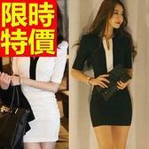 OL套裝(長袖裙裝)-面試上班族造型韓版職業制服2色59q26【巴黎精品】