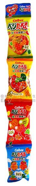 《松貝》加樂比綠黃野菜心型餅4連40g【4901330200534  】bd20