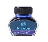 非碳素不堵筆墨水鋼筆水schneider施耐德瓶裝33ml黑色 藍色 藍黑