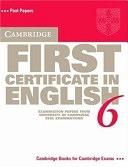 二手書 Cambridge First Certificate in English 6 Student s Book: Examination Papers from the University R2Y 0521754437