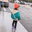 女童羽絨棉服免運新款韓版寶寶冬裝外套兒童棉襖女孩加厚洋氣棉衣