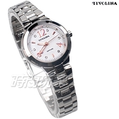 TIVOLINA 優雅來自於精緻 數字鑽錶 女錶 防水錶 藍寶石水晶鏡面 白色 LAW3725-W
