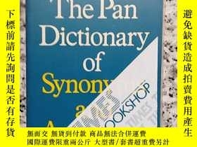 二手書博民逛書店THE罕見PAN DICTIONARY OF SYNONYMS AND ANTOYMSY10980 LAURE