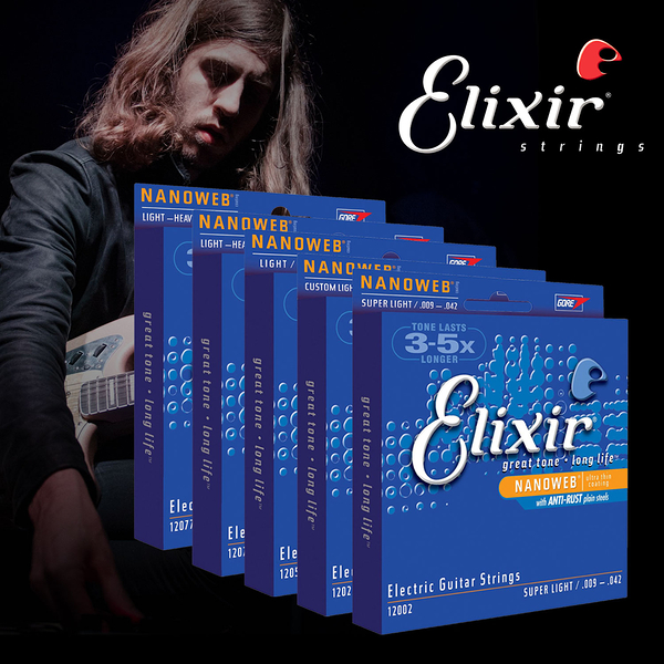 小叮噹的店- 電吉他弦 Elixir 12002 12027 12052 12077 12102 12152