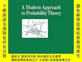 二手書博民逛書店【罕見】 A Modern Approach To Probability TheoryY236371 Ber