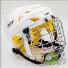 棒球壘球用品-冰球輪滑球棒球旱冰球面罩頭盔棒壘球頭盔壘球運動 白色