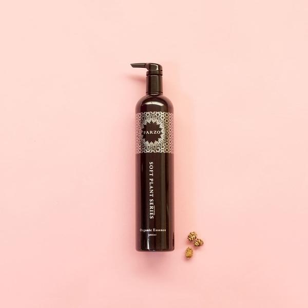 洗髮【花柔自然萃 Farzo】大馬士革玫瑰修護洗髮精1000ml(染燙受損髮質專用) 大容量