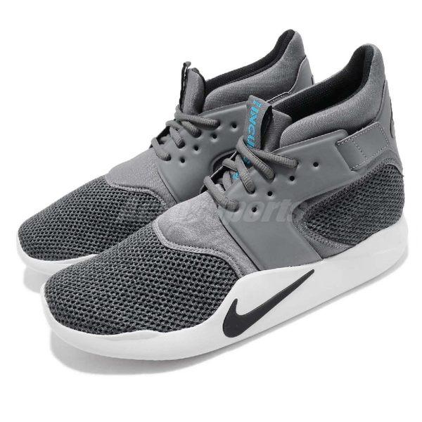 【五折特賣】Nike 休閒鞋 Incursion Mid SE 灰 綠 中筒 後跟魔鬼氈設計 運動鞋 男鞋【PUMP306】916764-001