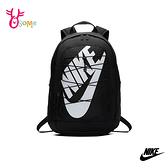 NIKE後背包 HAYWARD 運動後背包 鬆緊拉繩 大容量 筆電包 雙肩包 BB026#黑色◆OSOME奧森鞋業
