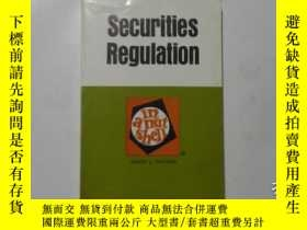 二手書博民逛書店Securities罕見Regulation 2nd Ed 證券