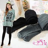 超彈性厚質針織毛孕婦褲襪 2色【CHA1203】孕味十足 孕婦裝