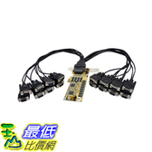 [106美國直購] StarTech.com PEX16S952LP 16 Port Low Profile RS232 PCI Express Serial Card - Cable Included