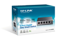 全新 TP-LINK TL-SG105E 5port Gigabit 簡單管理型交換器
