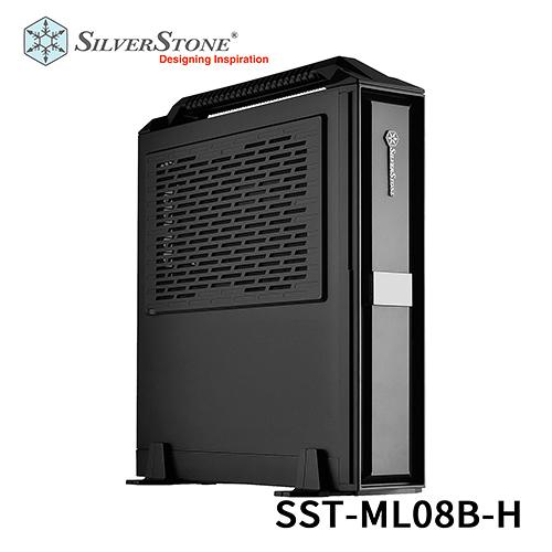 SilverStone 銀欣 SST-ML08 B-H 直立橫躺兩用 Mini-ITX 機殼