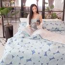我的梵谷 S1單人床包兩件組 100%復古純棉 台灣製造 棉床本舖