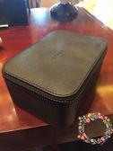 618好康鉅惠高級十字紋黑色化妝箱包簡約收納包