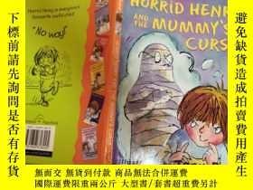 二手書博民逛書店horrid罕見henry and the mummy s curse 可怕的亨利和木乃伊的詛咒 .Y200