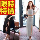 洋裝-無袖時尚焦點個性韓版連身裙61a39【巴黎精品】