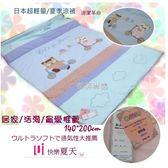 Petit Rose【快樂夏天】藍色/日本超輕涼適/拼布/涼被系列(140*200cm)