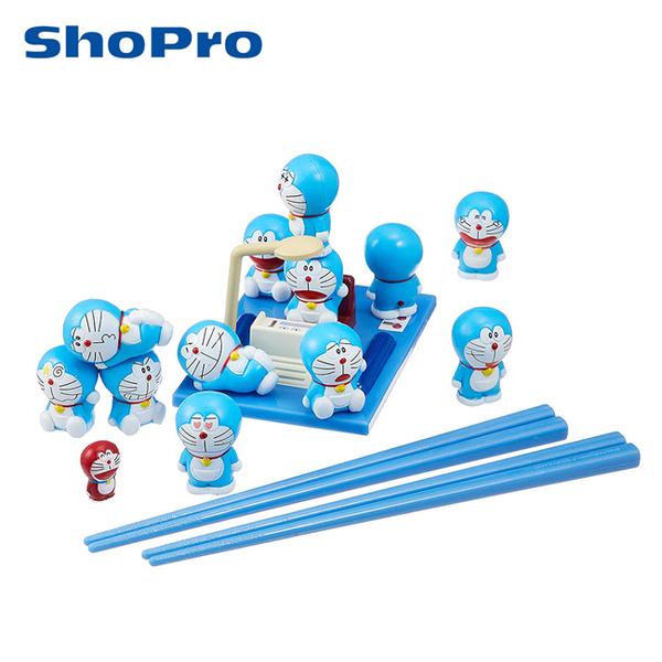 【日本正版】哆啦A夢 疊疊樂 玩具 平衡遊戲 桌遊 益智遊戲 小叮噹 DORAEMON EPOCH - 013408