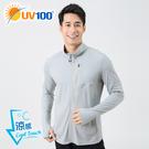 UV100 防曬 抗UV-涼感立領運動外...