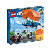 60208【LEGO 樂高積木】城市系列 City-航警降落傘追捕(218pcs)