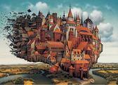 天空之城1000片拼圖益智兒童成人玩具【不二雜貨】