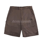 Nike 短褲 NSW Tech Pack 男款 咖啡 拉鍊口袋 抽繩 機能 工裝【ACS】 DD6589-004