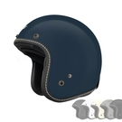 M2R復古安全帽CX-1素色款(露臉式/防護頭盔/機車帽/3/4耳罩式/開放式)