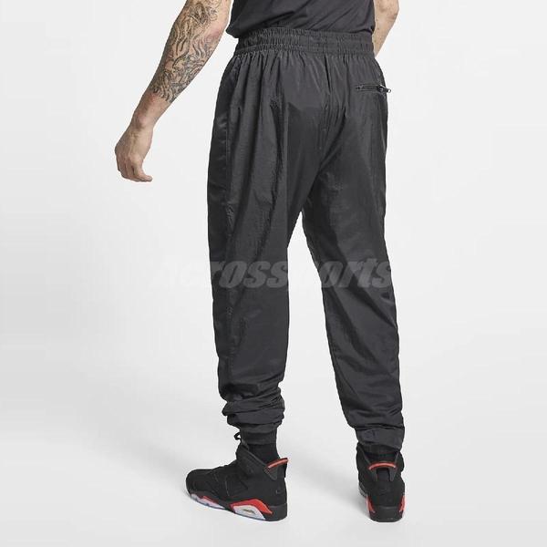 Nike 長褲 Flight Warm-up Pant 男款 素面 運動褲 飛人 Jumpman 喬登 復古 縮口褲 黑 【PUMP306】 AO0558-010