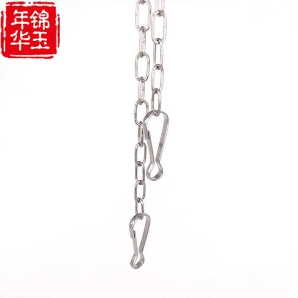 304不銹鋼子燈籠掛廣告牌細鏈條靜電鏈條吊牌鏈子帶扣子包包金屬