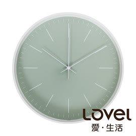 時鐘 Lovel 30cm Anderson's Palette靜音機芯掛鐘-綠(T721–GN)里和 Riho