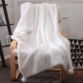 毛毯 手感兔兔絨雙層加厚冬季小毛毯子珊瑚絨薄款空調毯午睡毯