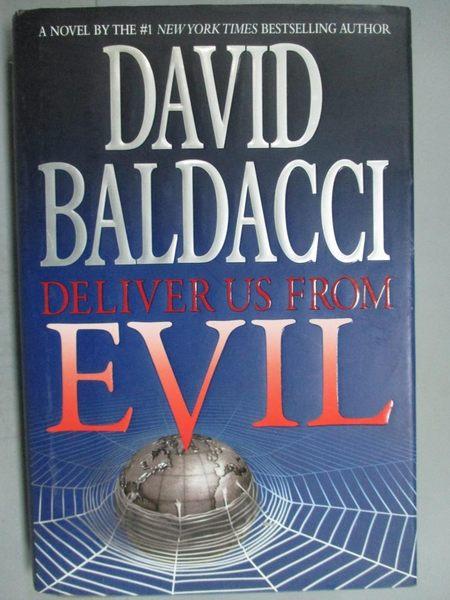 【書寶二手書T6/原文小說_ZAE】Deliver Us from Evil_David Baldacci