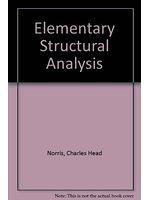 二手書博民逛書店《Elementary Structural Analysis》