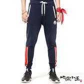 【專櫃新品↘8折】日式職人印半纏系列x 吸濕排汗蠟感印拼接棉褲 - BLUE WAY  地藏小王