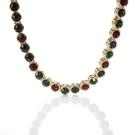 D'ORLAN 彩色水晶晶鑽項鍊(彩色)990126