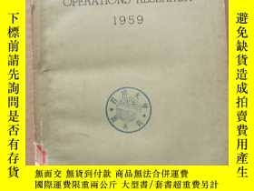 二手書博民逛書店notes罕見on operation research 1959(P421)Y173412