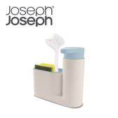 【Joseph Joseph】流理台清潔收納小幫手兩件組(灰藍)
