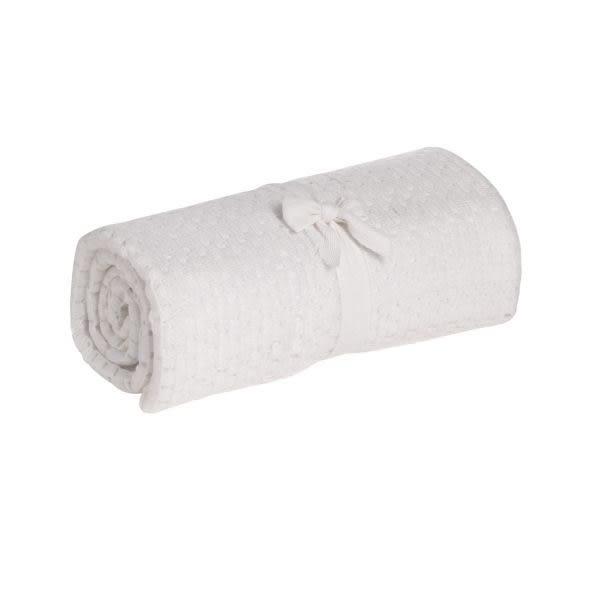 mothercare-洞洞毯-大棉毯-白色