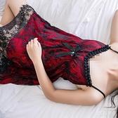 冰絲睡衣 睡衣女夏韓版可愛小個子吊帶蕾絲睡裙女春秋款新款冰絲露背 618大促銷