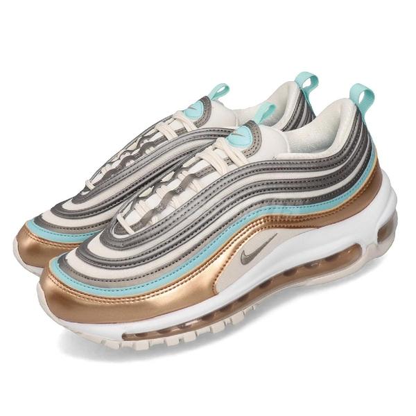 Nike 休閒鞋 Wmns Air Max 97 SE 米白 金 女鞋 運動鞋 【PUMP306】 CQ4806-071