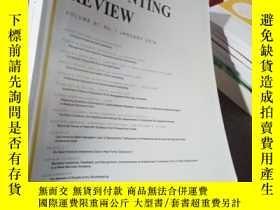 二手書博民逛書店The罕見Accounting Review Volume 91
