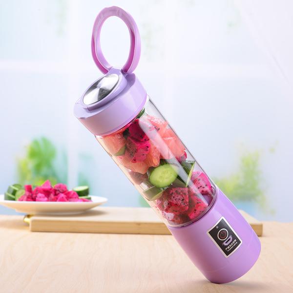 多功能便攜充電式榨汁機迷你榨汁杯果汁機家用輔食宿舍小型蔬菜機-Ifashion YTL