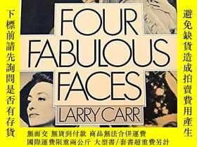 二手書博民逛書店Four罕見Fabulous FacesY255562 Larry Carr Penguin Books 出