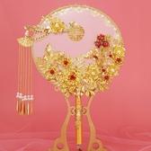 古風團扇新娘禮扇