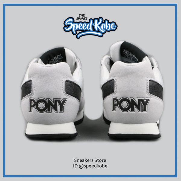 PONY SOLA-V 灰 黑 麂皮 毛巾布 復古 慢跑 女 64W1SO65GR ☆SP☆