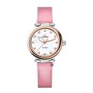 TITONI 梅花麥 瑞士 時尚 機械錶 快拆式 女錶 (23978SRG-STK-622) /玫塊金框/33.5mm