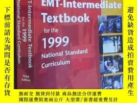 二手書博民逛書店Workbook罕見for Mosby s EMT-Intermediate Textbook for the 1